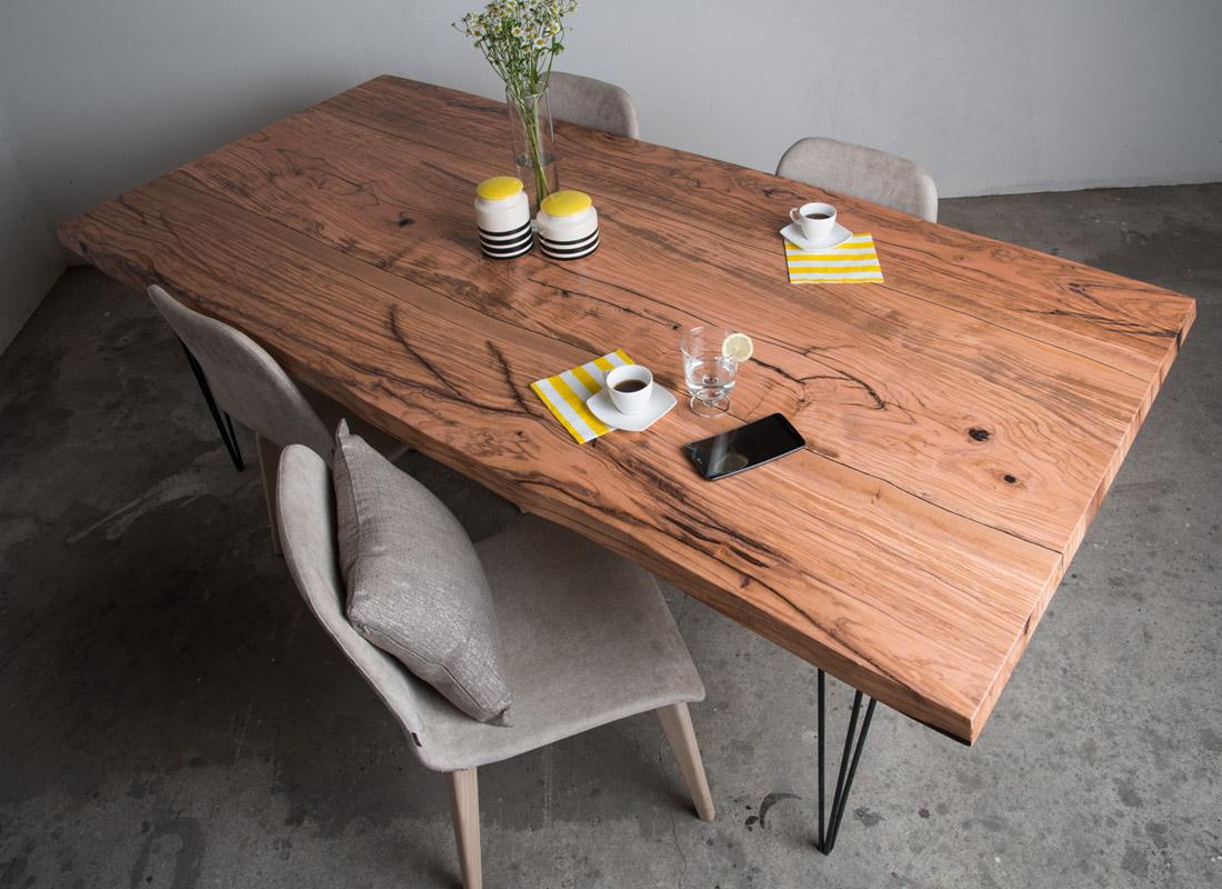 Edelholztisch Design Olive Olivenholztisch Online Kaufen
