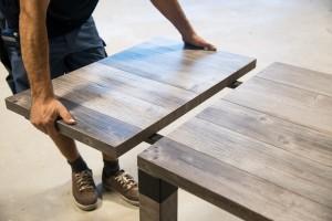 Tischverlängerung für Masstisch